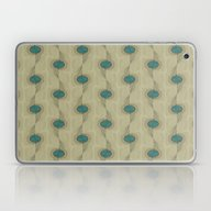 Laptop & iPad Skin featuring Turquoise Circles Patter… by Corbin Henry