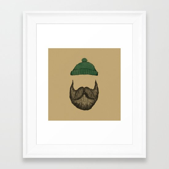 The Logger Framed Art Print