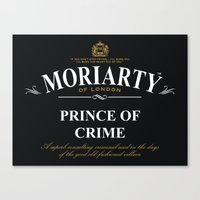 Prince of Crime Canvas Print