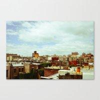 Harlem Skyline Canvas Print