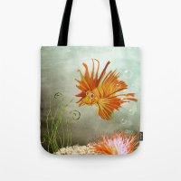Ocean Deep Tote Bag