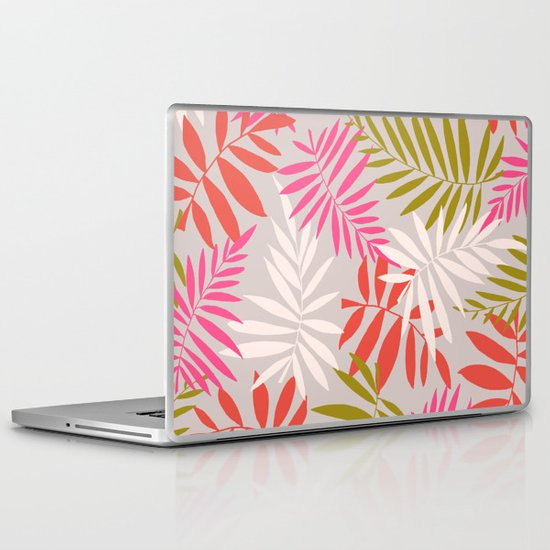 Tropical fell Laptop & iPad Skin