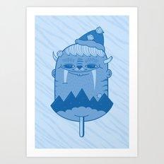 King of Mountain Art Print