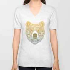 Bear (Savage) Unisex V-Neck