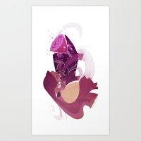 Beauty And The Beast Art Print