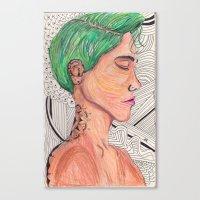 Gg Canvas Print
