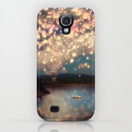 Love Wish Lanterns Galaxy S4 Slim Case