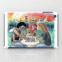 Mutant League Checkers iPad Case