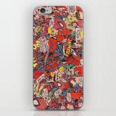Spiderman Comic Book Col… iPhone & iPod Skin