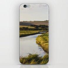 Cuckmere river iPhone & iPod Skin