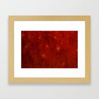 Unknown Surfaces Framed Art Print