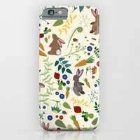 Rabbits In The Garden iPhone 6 Slim Case