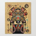 Mayas Spirit - Boom 2012 Canvas Print