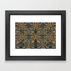 Stalagmites Version 3 Framed Art Print