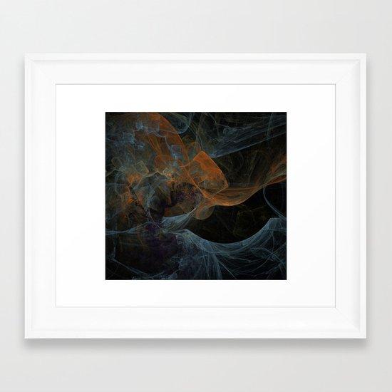 Color Abstraction Framed Art Print