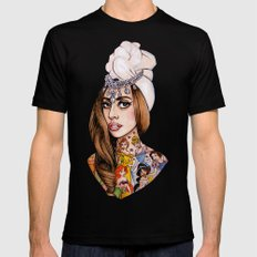 Princess High Mens Fitted Tee Black SMALL