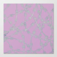 Trapped Pink Canvas Print