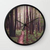 The Future Awaits, The Path Lies Before You Wall Clock