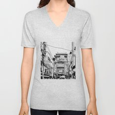 Yokohama - China town Unisex V-Neck