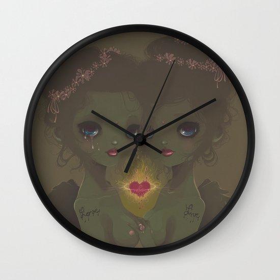 Love & Live Wall Clock