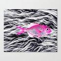 Fish on Fur VII Canvas Print