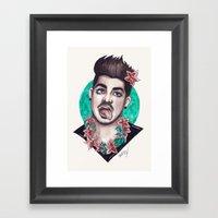 Miami Bitch Framed Art Print