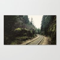 E&N Railroad [16:9] Canvas Print