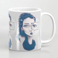 Rare Royal through the looking glass Mug
