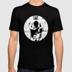 TEETHING Mens Fitted Tee Black SMALL