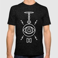Hypnotize Mens Fitted Tee Tri-Black SMALL