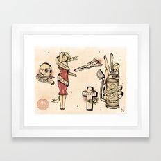 Sailor BSG Framed Art Print