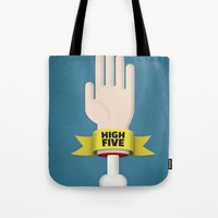 Spooky High Five Tote Bag