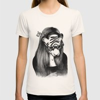 Peculiar Womens Fitted Tee Natural SMALL