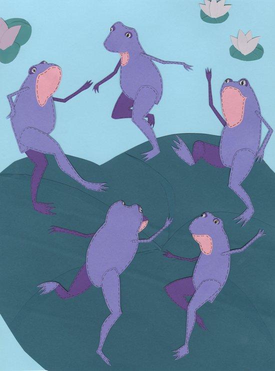 Matisse Frogs Art Print