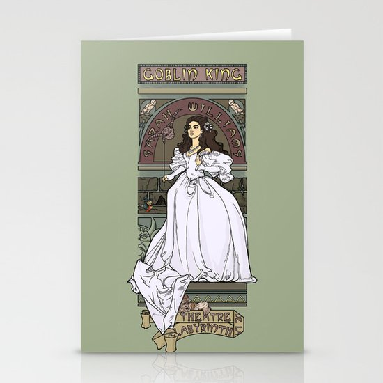 Theatre de la Labyrinth Stationery Card
