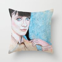 Zooey Throw Pillow