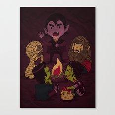 Horror Tales Canvas Print