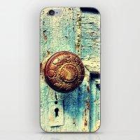 Unused Door iPhone & iPod Skin