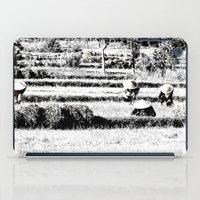Rice field iPad Case