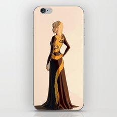 Aelin Dragon Dress iPhone & iPod Skin