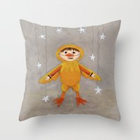 I'm A Duck Quack Quack Throw Pillow