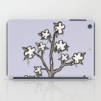 White Flower Tree iPad Case