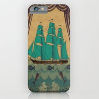 iPhone & iPod Case featuring Schooner 2 by David Andrew Sussman