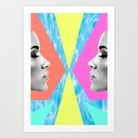 Thinking of Summer Art Print