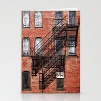 Tenement facade  Stationery Cards