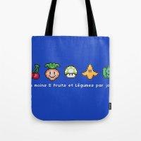 Geek Food Tote Bag