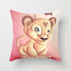 Lena Lioness Throw Pillow