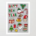 My Christmas Theme (: Art Print