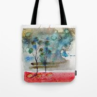 waxing crescent.one Tote Bag