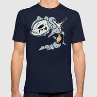 Steelix Anatomy Mens Fitted Tee Navy SMALL